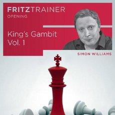 Coleccionismo deportivo: AJEDREZ. CHESS. KING'S GAMBIT VOL. 1 - SIMON WILLIAMS DVD-ROM. Lote 53503863