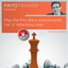 Coleccionismo deportivo: AJEDREZ. CHESS. PLAY THE PIRC LIKE A GRANDMASTER VOL. 2 - MIHAIL MARIN DVD. Lote 53544467