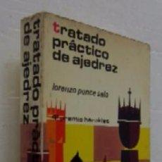 Coleccionismo deportivo: TRATADO PRACTICO DE AJEDREZ. Lote 53867864