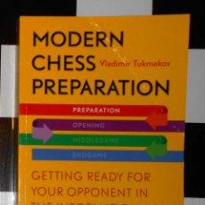 Coleccionismo deportivo: AJEDREZ: MODERN CHESS PREPARATION. VLADIMIR TUKMAKOV. NEW IN CHESS 2012.. Lote 54729685