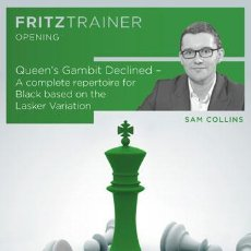 Coleccionismo deportivo: AJEDREZ. CHESS. QUEEN'S GAMBIT DECLINED - LASKER VARIATION - SAM COLLINS DVD-ROM. Lote 54755685