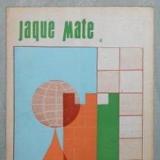 Coleccionismo deportivo: AJEDREZ REVISTA JAQUE MATE 1967-05 (MAYO) CHESS SCHACH. Lote 56497719