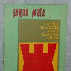 Coleccionismo deportivo: AJEDREZ REVISTA JAQUE MATE 1967-06 (JUNIO) CHESS SCHACH. Lote 56497753