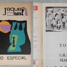 Coleccionismo deportivo: AJEDREZ REVISTA JAQUE MATE 1967-08 (AGOSTO) CHESS SCHACH. Lote 56497791