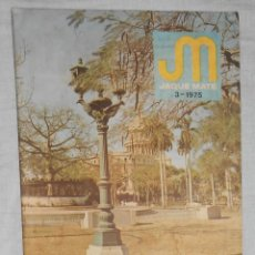 Coleccionismo deportivo: AJEDREZ . REVISTA JAQUE MATE 1975 03 (MARZO) CHESS SCHACH. Lote 56498056