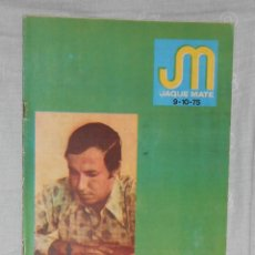 Coleccionismo deportivo: AJEDREZ. REVISTA JAQUE MATE 1975 09-10 (SEPTIEMBRE-OCTUBRE) CHESS SCHACH. Lote 56498083