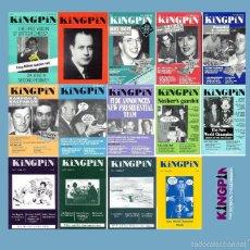 Coleccionismo deportivo: LOTE DE 14 REVISTAS DE AJEDREZ SATIRICO KINGPIN CHESS SCHACH. Lote 56504970
