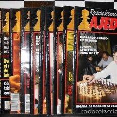 Coleccionismo deportivo: REVISTA INTERNACIONAL DE AJEDREZ AÑO COMPLETO 1992 CHESS. Lote 56528647