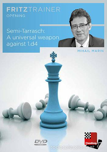 AJEDREZ. CHESS. SEMI-TARRASCH. A UNIVERSAL WEAPON AGAINST 1.D4 - MIHAIL MARIN DVD-ROM (Coleccionismo Deportivo - Libros de Ajedrez)