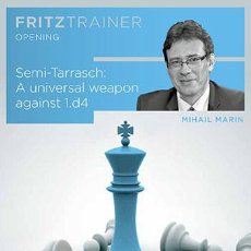 Coleccionismo deportivo: AJEDREZ. CHESS. SEMI-TARRASCH. A UNIVERSAL WEAPON AGAINST 1.D4 - MIHAIL MARIN DVD-ROM. Lote 57221782