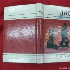Coleccionismo deportivo: ABC COMPLETO DE AJEDREZ. RAMON CRUSI MORE. CIRCULO DE LECTORES 1978.. Lote 57306619