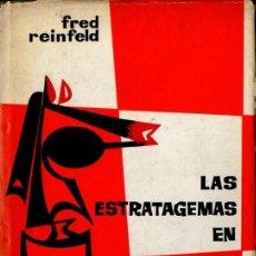Coleccionismo deportivo: REINFELD . LAS ESTRATAGEMAS EN AJEDREZ (BRUGUERA, 1964). Lote 57463933