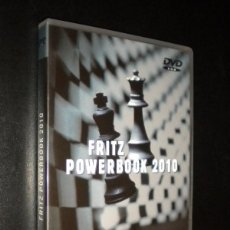 Coleccionismo deportivo: AJEDREZ DVD / FRITZ POWERBOOK 2010. Lote 57971536