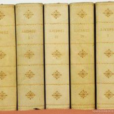 Coleccionismo deportivo: 7791 - LOTE DE 10 LIBROS DE AJEDREZ EN 5 TOMOS(VER DESCRIP). VV. AA. EDI. BRUGUERA. 1961.. Lote 58060933
