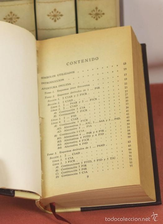 Coleccionismo deportivo: 7791 - LOTE DE 10 LIBROS DE AJEDREZ EN 5 TOMOS(VER DESCRIP). VV. AA. EDI. BRUGUERA. 1961. - Foto 5 - 58060933
