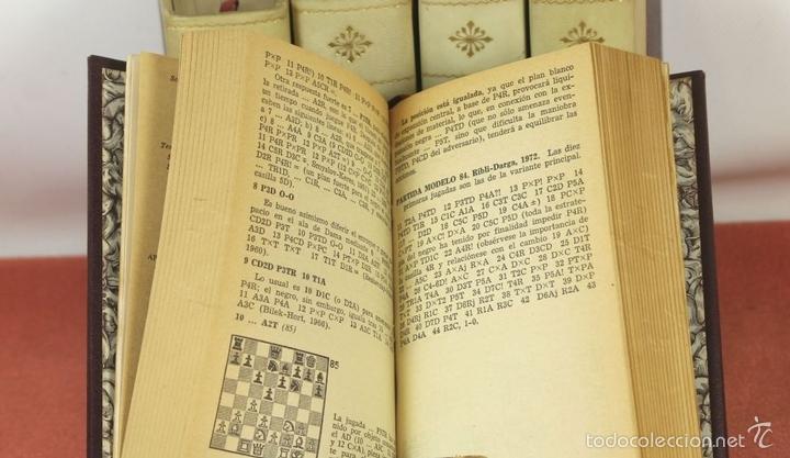 Coleccionismo deportivo: 7791 - LOTE DE 10 LIBROS DE AJEDREZ EN 5 TOMOS(VER DESCRIP). VV. AA. EDI. BRUGUERA. 1961. - Foto 6 - 58060933