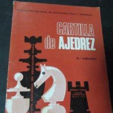 Coleccionismo deportivo - CARTILLA DE AJEDREZ ROMAN TORAN - 58103981