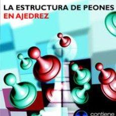 Coleccionismo deportivo: CHESS. LA ESTRUCTURA DE PEONES EN AJEDREZ - ANDREW SOLTIS (+CD ROM) DESCATALOGADO!!!. Lote 59505735