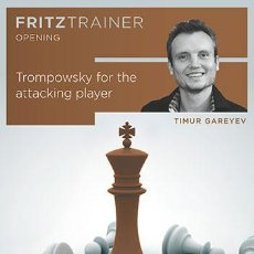 Coleccionismo deportivo: AJEDREZ. CHESS. TROMPOWSKY FOR THE ATTACKING PLAYER - TIMUR GAREYEV DVD-ROM. Lote 60636271