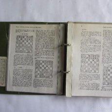 Coleccionismo deportivo: CUADERNO TEÓRICO DE LA REVISTA AJEDREZ. 1976 NÚMEROS 1 Y 3 ED. SOPENA ARGENTINA S.A.. Lote 60693731