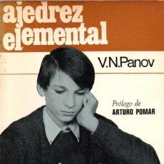 Coleccionismo deportivo - Ajedrez elemental - V. N. Panov - 61121887