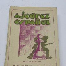 Coleccionismo deportivo: REVISTA AJEDREZ ESPAÑOL DICIEMBRE 1950 - NUM. 108. TIENE 56 PAGINAS Y MIDE 24 X 17 CMS.. Lote 63097388