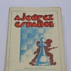 Coleccionismo deportivo: REVISTA AJEDREZ ESPAÑOL ENERO 1951 - NUM. 109. TIENE 56 PAGINAS Y MIDE 24 X 17 CMS.. Lote 63097512