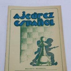 Coleccionismo deportivo: REVISTA AJEDREZ ESPAÑOL JULIO AGOSTO 1951 - NUM. 115 - 116 TIENE 56 PAGINAS Y MIDE 24 X 17 CMS.. Lote 63098172