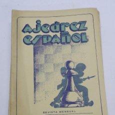 Coleccionismo deportivo: REVISTA AJEDREZ ESPAÑOL FEBRERO 1952 - NUM. 122 TIENE 56 PAGINAS Y MIDE 24 X 17 CMS.. Lote 63098668