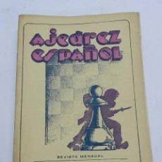 Coleccionismo deportivo: REVISTA AJEDREZ ESPAÑOL ABRIL 1952 - NUM. 124 TIENE 56 PAGINAS Y MIDE 24 X 17 CMS.. Lote 63098976