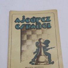 Coleccionismo deportivo: REVISTA AJEDREZ ESPAÑOL FEBRERO, MARZO 1953 - NUM. 134 - 135, TIENE 56 PAGINAS Y MIDE 24 X 17 CMS.. Lote 63099684
