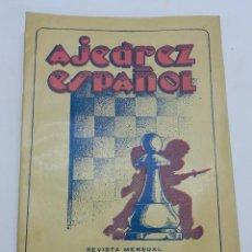 Coleccionismo deportivo: REVISTA AJEDREZ ESPAÑOL ABRIL, MAYO 1953 - NUM. 136 - 137, TIENE 56 PAGINAS Y MIDE 24 X 17 CMS.. Lote 63099828