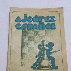 Coleccionismo deportivo: REVISTA AJEDREZ ESPAÑOL JUNIO - JULIO 1953 - NUM. 138 - 139, TIENE 56 PAGINAS Y MIDE 24 X 17 CMS.. Lote 63099944