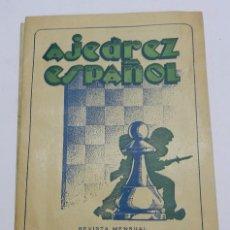 Coleccionismo deportivo: REVISTA AJEDREZ ESPAÑOL ENERO - FEBRERO 1954 - NUM. 145 - 146, TIENE 56 PAGINAS Y MIDE 24 X 17 CMS.. Lote 63100800