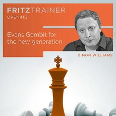Coleccionismo deportivo: AJEDREZ. CHESS. EVANS GAMBIT FOR THE NEW GENERATION. FRITZ TRAINER OPENING - SIMON WILLIAMS DVD-ROM. Lote 64765183
