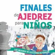 Coleccionismo deportivo: CHESS. FINALES DE AJEDREZ PARA NIÑOS - KARSTEN MÜLLER. Lote 64930347