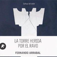 Coleccionismo deportivo: AJEDREZ. NARRATIVA. LA TORRE HERIDA POR EL RAYO - FERNANDO ARRABAL. Lote 64933167
