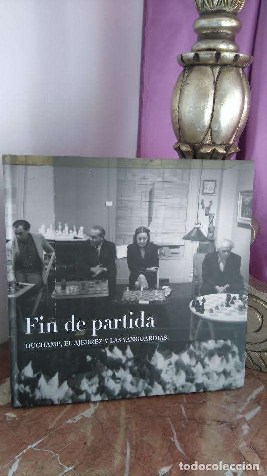 CHESS. FIN DE PARTIDA. DUCHAMP, EL AJEDREZ Y LAS VANGUARDIAS - FUNDACIO JOAN MIRO/FUN BBVA (CARTONÉ) (Coleccionismo Deportivo - Libros de Ajedrez)