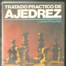 Coleccionismo deportivo: TRATADO PRÁCTICO DE JEREZ. PONCE SALA,LORENZO. A-AJD-488. Lote 66819022