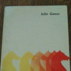 Coleccionismo deportivo: C62 LIBRO AJEDREZ AJEDROLOGIA JULIO GANZO EDITOR RICARDO AGUILERA. Lote 72329707