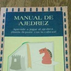 Coleccionismo deportivo: C62 LIBRO MANUAL DE AJEDREZ MIGAL A L MATEOS. Lote 72331035
