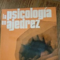 Coleccionismo deportivo: C62 LIBRO LA PSICOLOGIA EN AJEDREZ KROGIUS ESCAQUES MR MARTINEZ ROCA. Lote 72334814