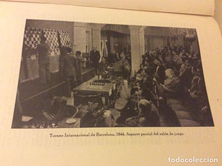 Coleccionismo deportivo: Magnifico libro Torneo Internacional Ajedrez Barcelona 1946 Rafael Llorens - Foto 2 - 158956536
