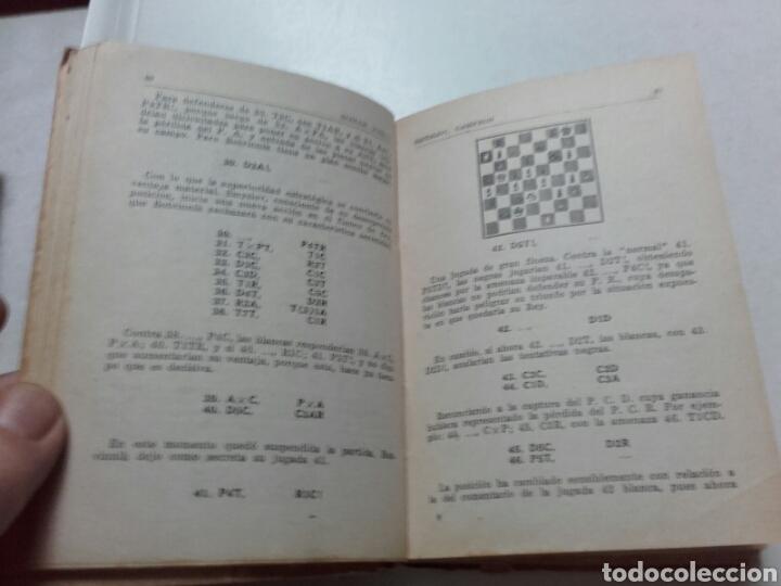 Coleccionismo deportivo: A. ELLERMAN. MACTH RADIAL INTERNACIONAL DE AJEDREZ. 1945. MÁXIMO PODESTA. BOTVINNIK. - Foto 3 - 75513338