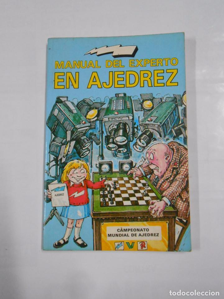 MANUAL DEL EXPERTO EN AJEDREZ - PAUL LANGFIELD. TDK138 (Coleccionismo Deportivo - Libros de Ajedrez)