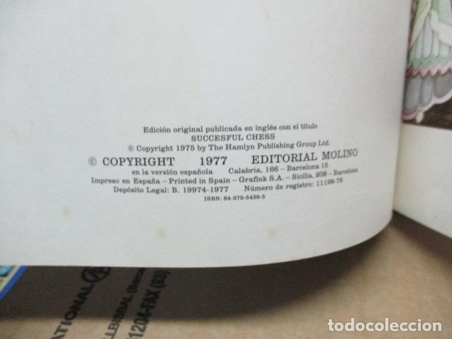Coleccionismo deportivo: ME GUSTA EL AJEDREZ (SUCCESFUL CHESS) - PAUL LANGFIELD - ED. MOLINO - 1977 (EXCELENTE ESTADO) - Foto 5 - 80327153
