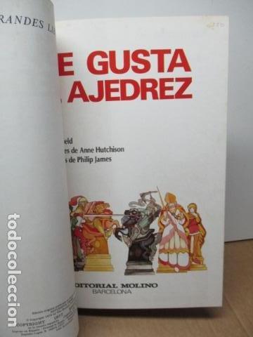 Coleccionismo deportivo: ME GUSTA EL AJEDREZ (SUCCESFUL CHESS) - PAUL LANGFIELD - ED. MOLINO - 1977 (EXCELENTE ESTADO) - Foto 6 - 80327153
