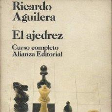 Coleccionismo deportivo: EL AJEDREZ, RICARDO AGUILERA. Lote 82974864