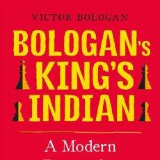Coleccionismo deportivo: AJEDREZ. CHESS. BOLOGAN'S KING'S INDIAN. A MODERN REPERTOIRE FOR BLACK - VICTOR BOLOGAN. Lote 83957132