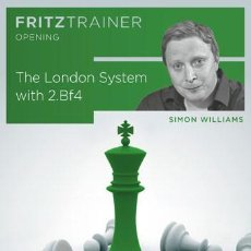 Coleccionismo deportivo: AJEDREZ. CHESS. THE LONDON SYSTEM WITH 2.BF4. FRITZTRAINER OPENING - SIMON WILLIAMS DVD-ROM. Lote 83975204